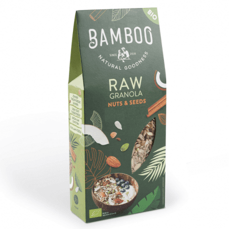 BAMBOO - RAW Granola Nuts & Seeds Organic 350g