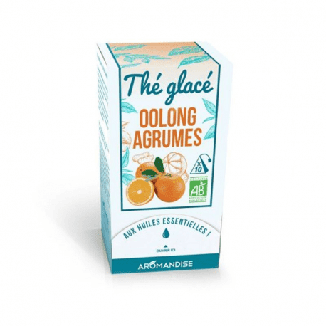 Ice Tea Oolong Citrus Organic 30g