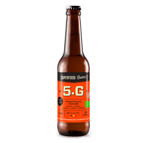 Superfood Beer 5.G Organic 330ml