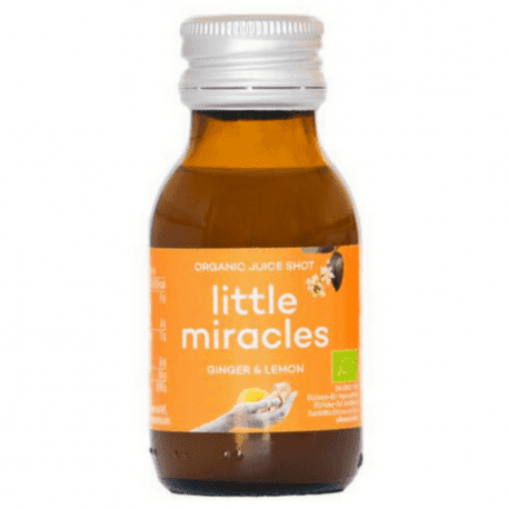 Little Miracles - Jus de citron et gingembre bio