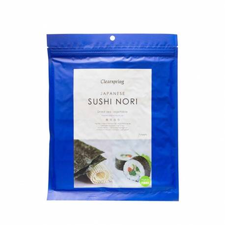 Sushis Nori (Feuille) 17g, CLEARSPRING, Algues